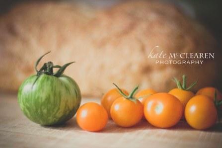 Heirloom Tomatoes-Heirloom Tomato and Corn Soup