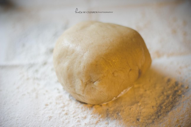 Dough chilled. Ready to be rolled