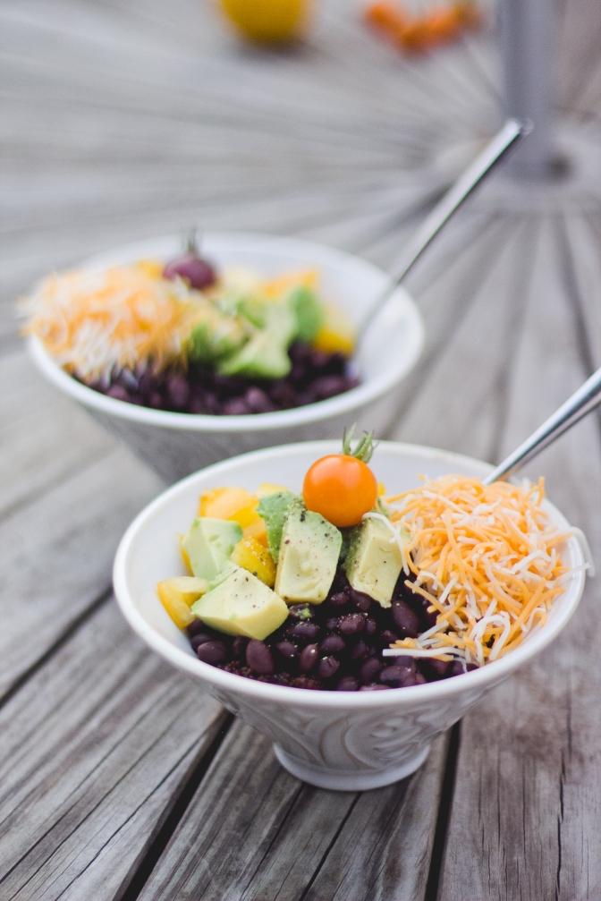 Quinoa Risotto Tace Salad-Vegan and Gluten Free